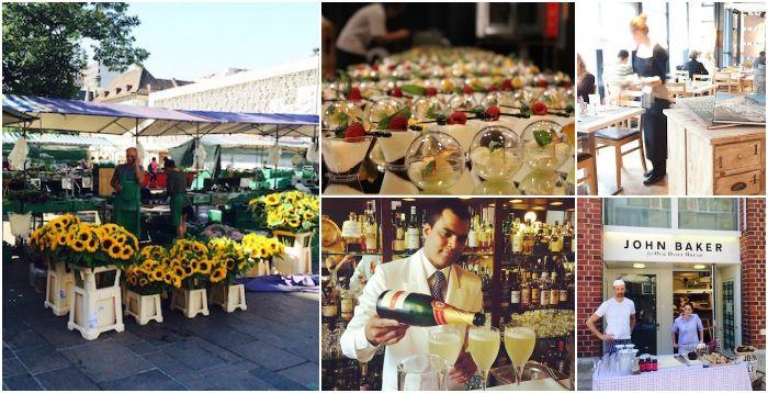 Var att äta och dricka i Zürich